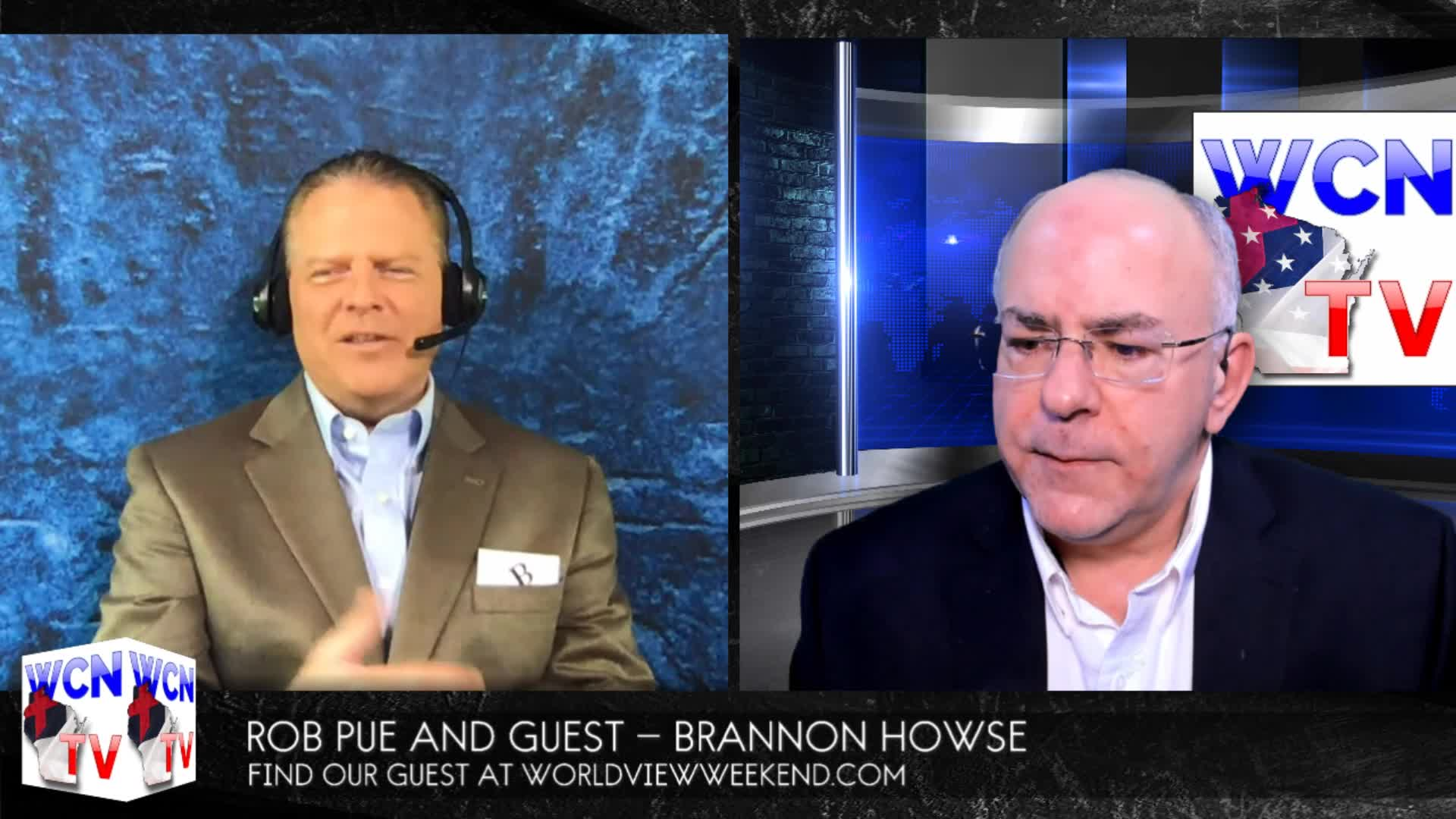 WCN-TV, May 20, 2020 with host Rob Pue and his Guest Brannon Howse