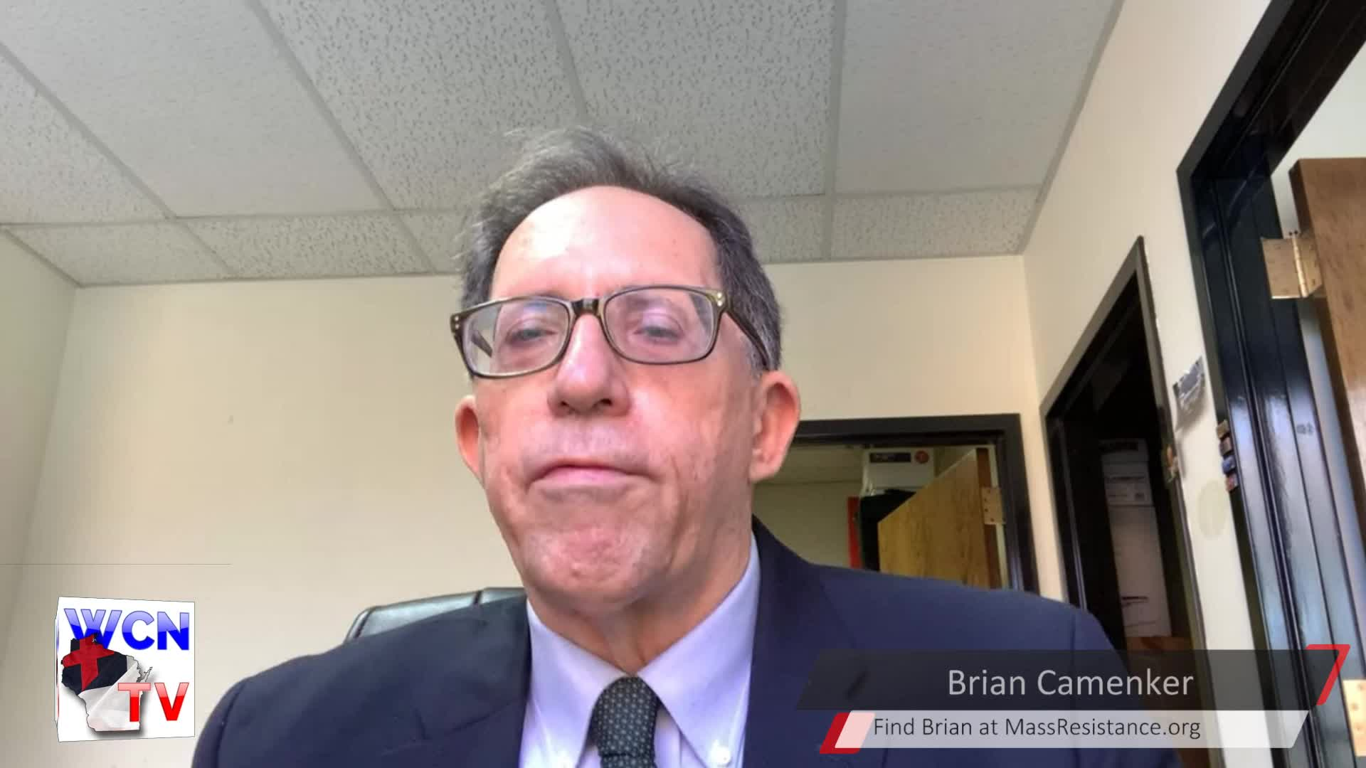 WCN-TV - November 11, 2020 - Mike Heath with Guest Brian Camenker