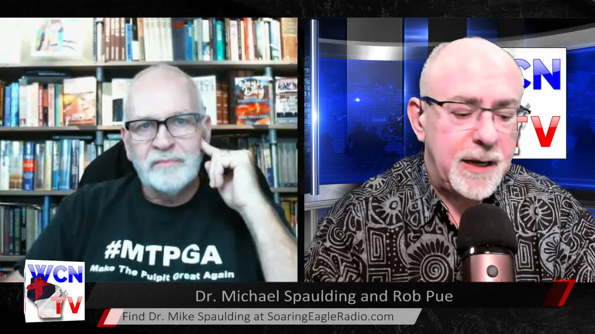 WCN-TV - November 25, 2020 - Rob Pue with Guest Dr. Mike Spaulding