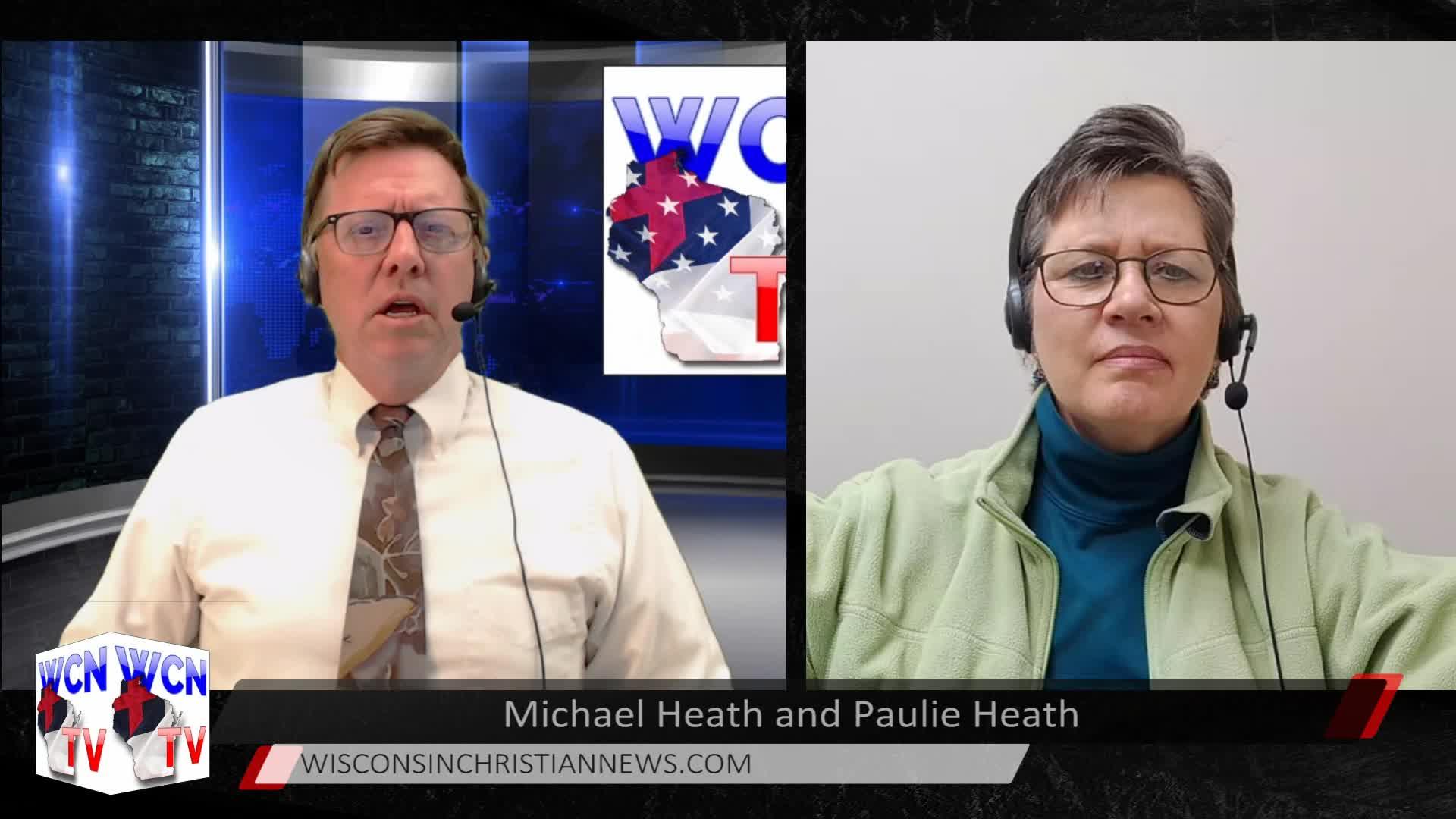 WCN-TV - December 30,2020 - Mike Heath with Guest Paulie Heath