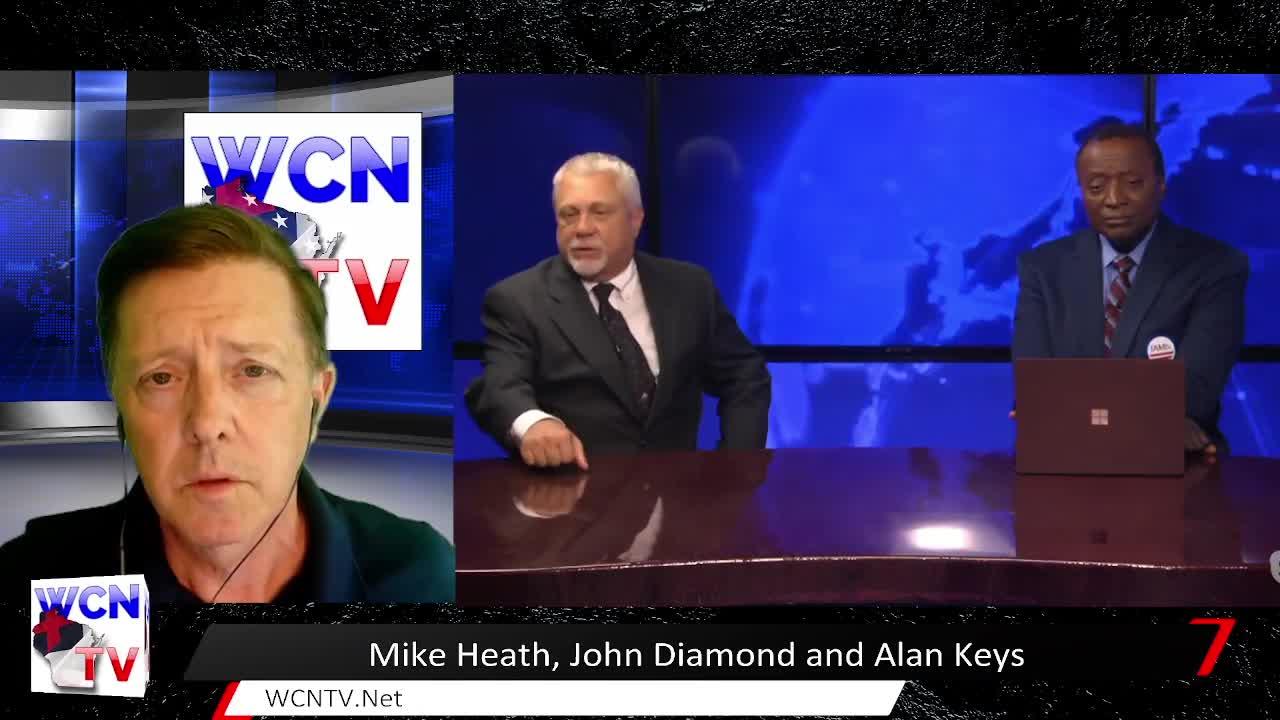 WCN-TV | June 30th, 2021 | Michael Heath, John Diamond, and Alan Keyes