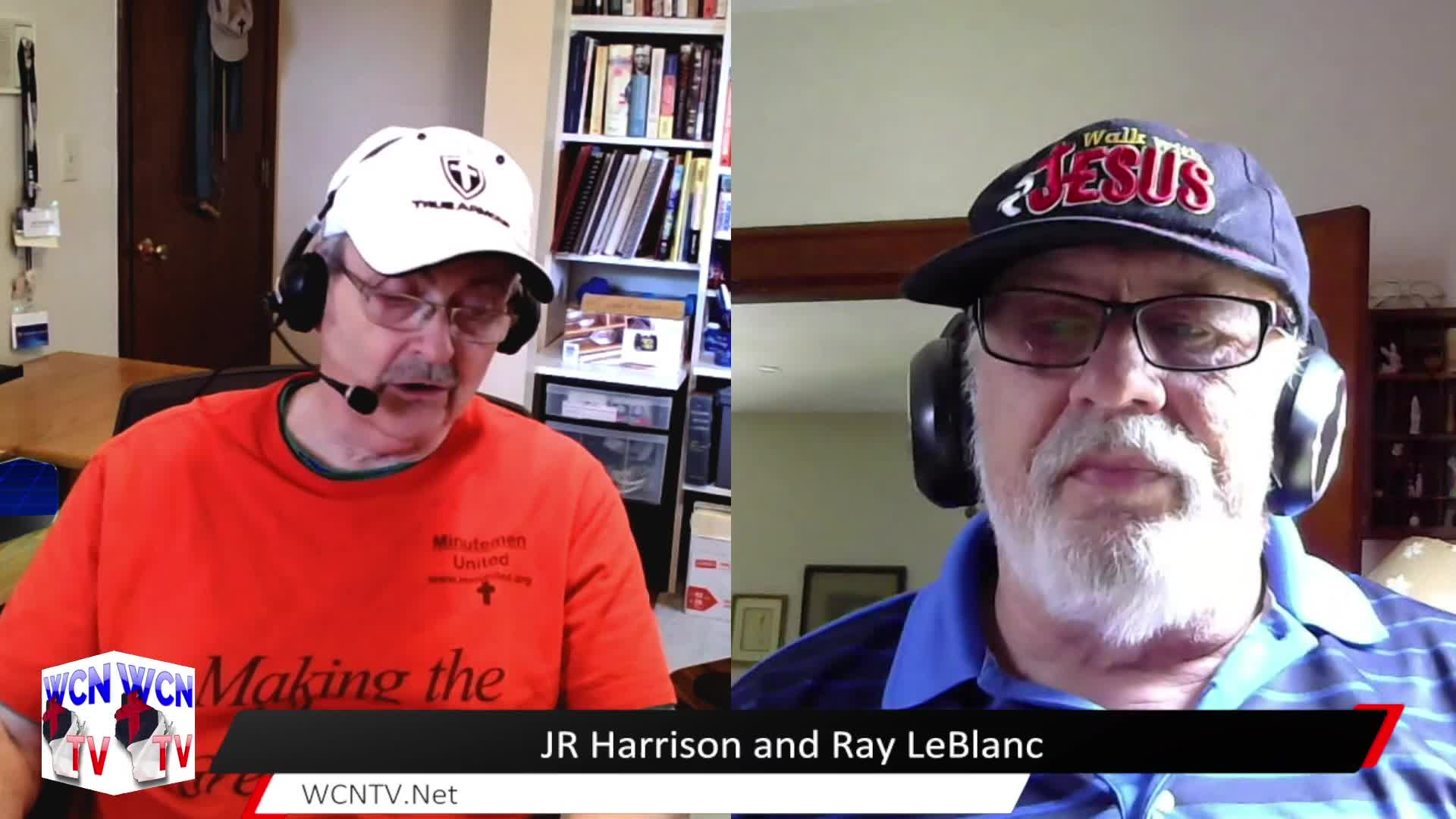WCN-TV | July 21st, 2021 | JR Harrison and Ray LeBlanc