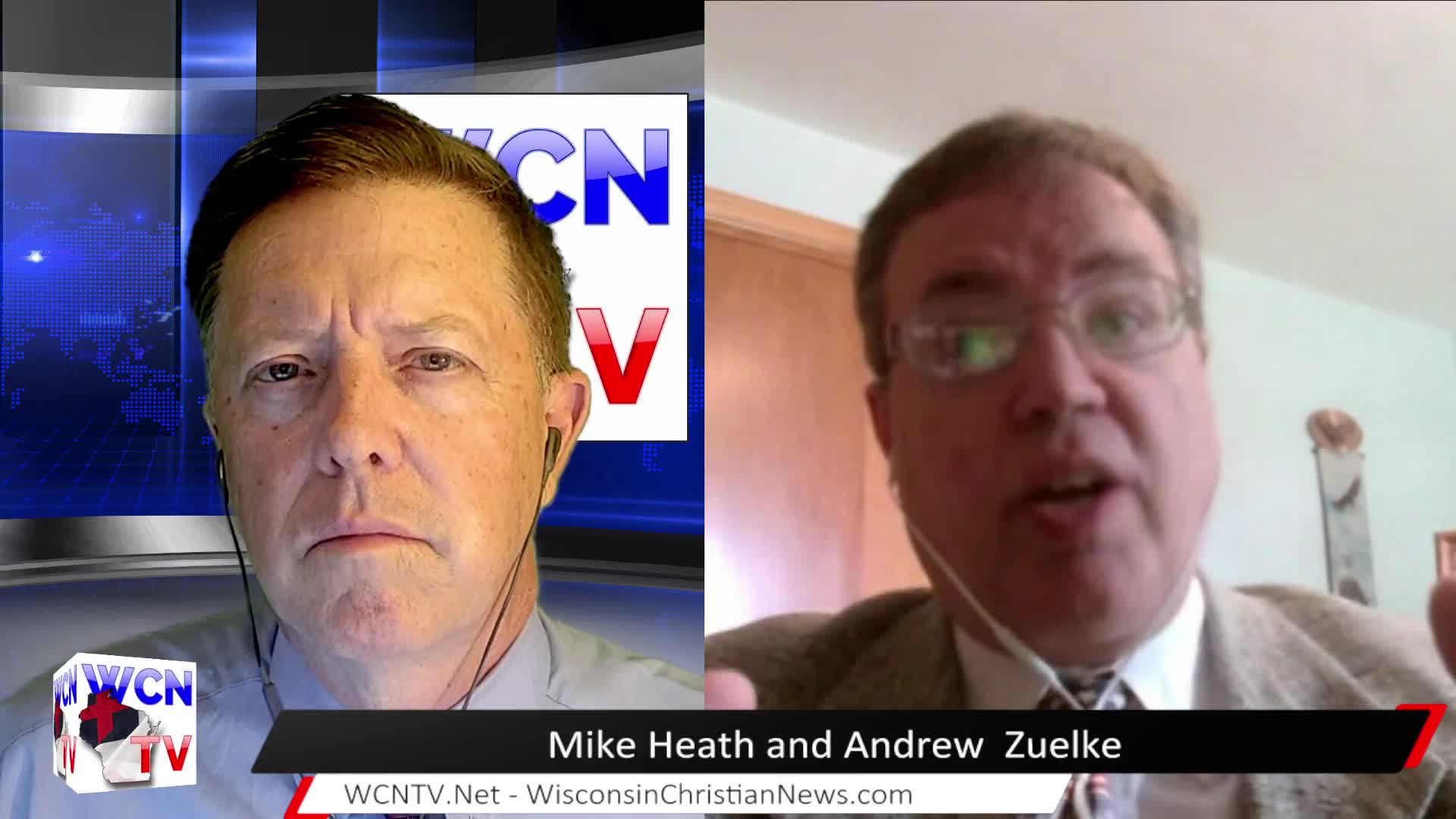 WCN-TV | August 11th, 2021 | Mike Heath and Andrew Zuelke